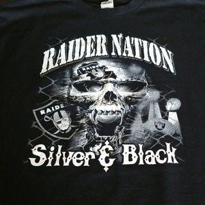 Raiders t shirt